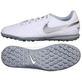 Chaussures de football Nike Tiempo Legend 8 Academy Club Tf M AT6109-100 blanc blanc