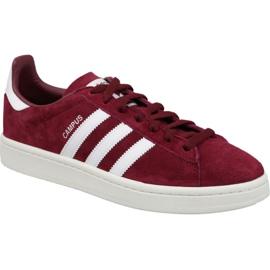 Adidas Originals Campus M BZ0087 chaussures bordeaux