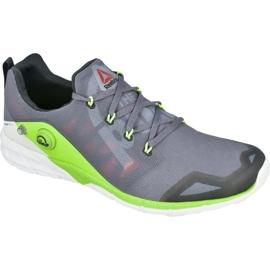 Gris Reebok ZPump Fusion 2.0 M V68290 chaussures d'entraînement