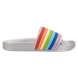 Sweet Shoes Pantoufles en caoutchouc coloré