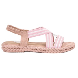 Seastar rose Sandales confortables pour femmes