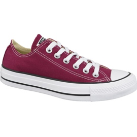 Chaussures Converse Chuck Taylor All Star Ox M9691C bordeaux