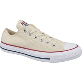 Brun Chaussures Converse Chuck Taylor All Star Ox 159485C Beige