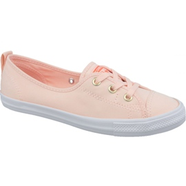 Converse Chuck Taylor All Star Ballet Chaussure en dentelle 564313C orange