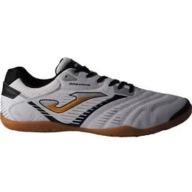 Chaussures de foot Joma Maxima 902 Sala In M noir et blanc blanc, noir