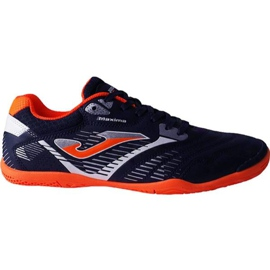 Chaussures de foot Joma Maxima 903 Sala In M bleu marine marine, orange