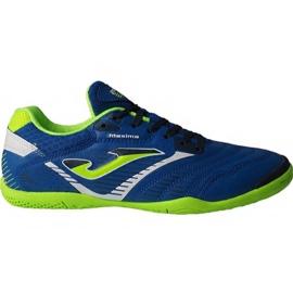Chaussures de foot Joma Maxima 904 Sala In M bleu