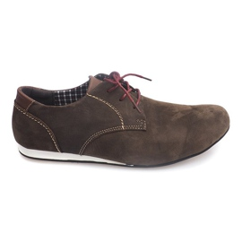 Brun Chaussures Urbaines Casual 4245 Beige