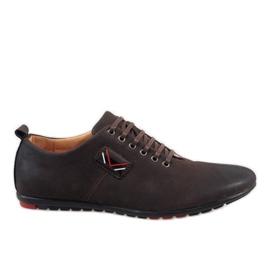 Brun Chaussures homme marron WF932-3