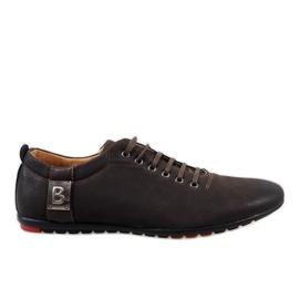 Brun Chaussures homme marron WF933-3
