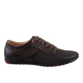 Brun Chaussures homme marron WF931-3