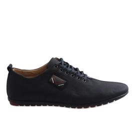 Chaussures noires pour hommes WF932-1