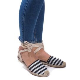 Sandals Espadrilles Ballet Shoes Balerinki 6368 Noir