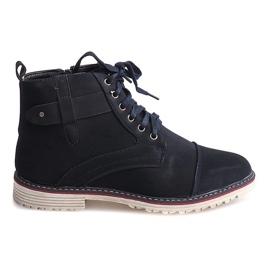 Marine Chaussures Hautes Nouées M589 Grenade