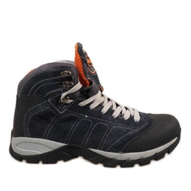 Chaussures homme bleu marine 7264