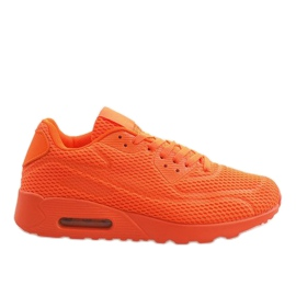 Chaussures de sport orange Z2014-5