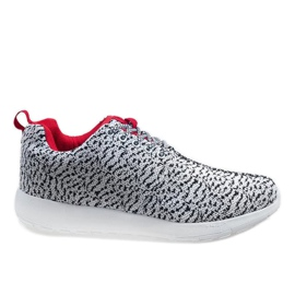 Chaussures de sport blanches LD19-7
