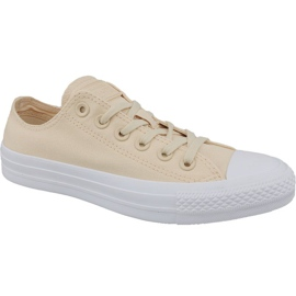 Brun Chaussures Converse Ctas Ox W 163306C