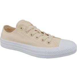 Chaussures Converse Ctas Ox W 163306C brun