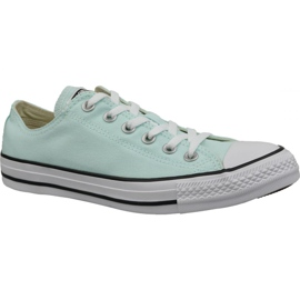 Chaussures Converse C. Taylor All Star Ox Bleu Teal In 163357C