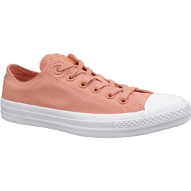 Orange Converse C. Taylor All Star chaussures L 163307C