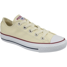 Converse C. Taylor All Star Ox Blanc Naturel Dans M9165
