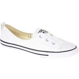 Blanc Chaussures Converse Chuck Taylor All Star Ballet En Dentelle En C547167C