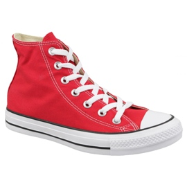 Rouge Chaussures Converse Chuck Taylor All Star Hi M9621C