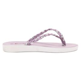 Seastar Tongs tressées violettes pourpre