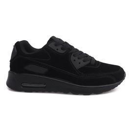 Baskets de sport Sneakers Suede 55109-1 Noir