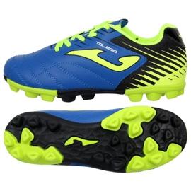 Chaussures de football Joma Toledo 904 Fg Jr. TOLJW.904.24 bleu bleu