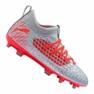 Chaussures de football Puma Future 4.3 Netfit Fg / Ag Jr 105693-01 gris rouge, gris / argent
