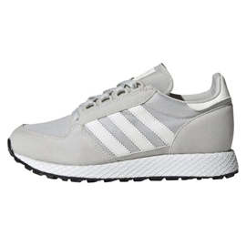 Gris Chaussures Adidas Originals Forest Grove Jr EE6565