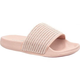 Rose Chaussons Skechers Pop Ups In 34210-LTPK