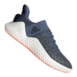 Bleu Chaussures de running adidas Alphabounce Trainer M CG6237