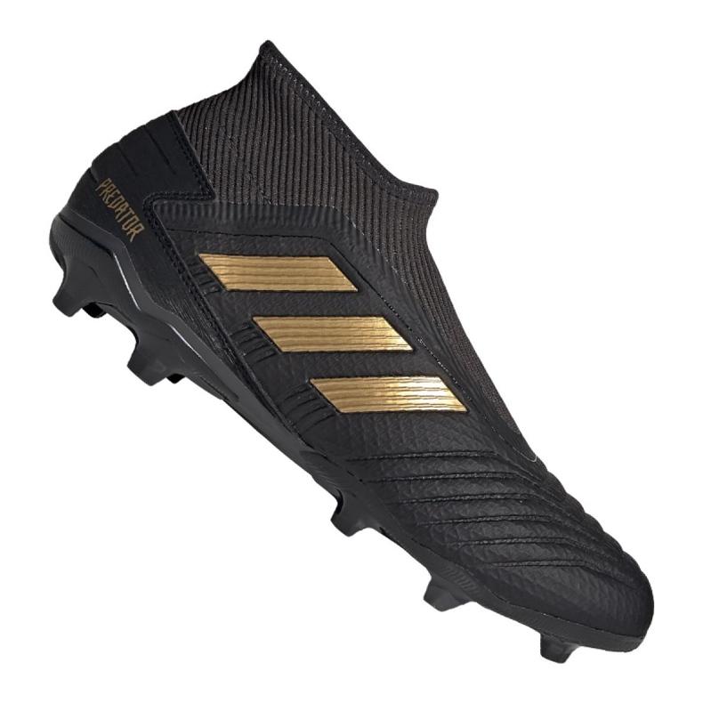 Chaussures de football adidas Predator 19.3 Ll Fg M EF0374 noir