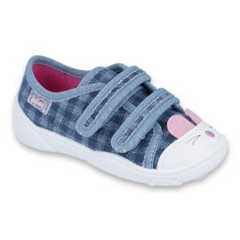Bleu Befado chaussures pour enfants 907P107