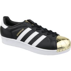 Chaussures Adidas Superstar W Metal Toe W BB5115 noir