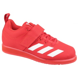 Adidas Powerlift 4 W BC0346 chaussures rouge