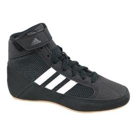 Noir Chaussures Adidas Havoc K Jr AQ3327
