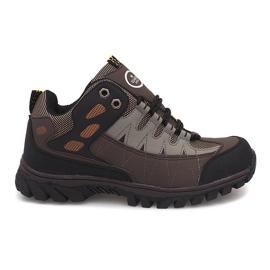 Brun Chaussures de trekking pour hommes M317 Marron