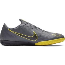 Chaussures de foot Nike Mercurial Vapor X 12 Academy Ic gris M AH7383 070