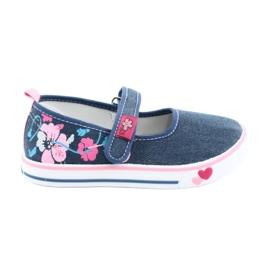 American Club Sneakers Sneakers avec Velcro TEN15 bleu