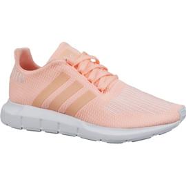 Rose Adidas Swift Run Jr CG6910 chaussures