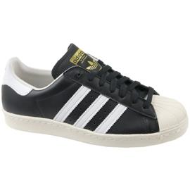 Noir Chaussures Adidas Superstar 80S M G61069