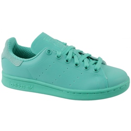 Bleu Adidas Stan Smith Adicolor Chaussures W S80250