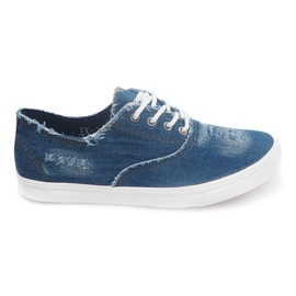 Marine Sneakers Casual pour Homme JX-31 Navy