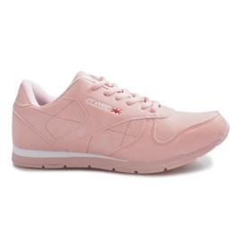 Baskets de sport roses