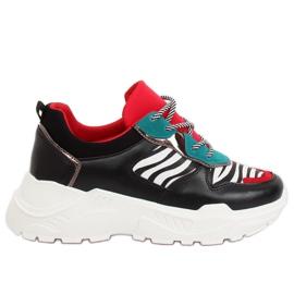 Chaussures de sport noires LV87P-1 Black