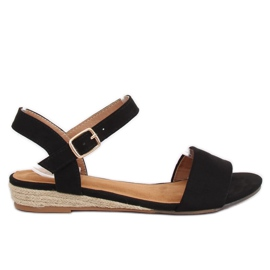 Sandales Espadrilles Noir 9R73 Noir